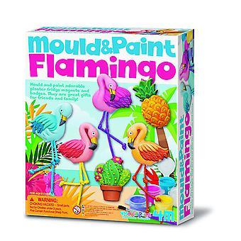 4M 404736 Flamingo skimmel og maling, multi-farve