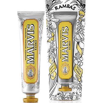 Marvis Rambas tandkräm (75ml)