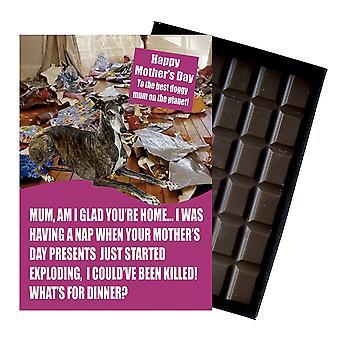 Greyhound ägare hundälskare mor? s dag present choklad present till mamma