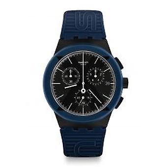 Swatch X-District Blue Herrenchronograph (SUSB418)