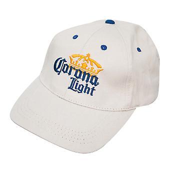 Corona Light Beige Logo Hat