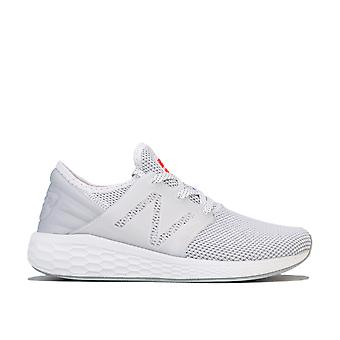 Womens New Balance Fresh Foam Cruz V2 Sport Running Shoes Standard Fit In White