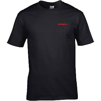 Citreon Motorcar Car Embroidered Logo - Cotton Premium T-Shirt