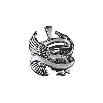 Pendant with chain Stainless Steel Ed Hardy War Eagle