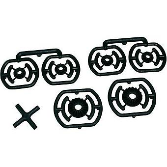Spare part Team C T01091 10/18-tooth differential cogwheels