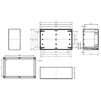 Build-in casing 252 x 162 x 120 Polycarbonate (PC) Light grey (RAL 7035) Spelsberg TG PC 2516-12-to 1 pc(s)