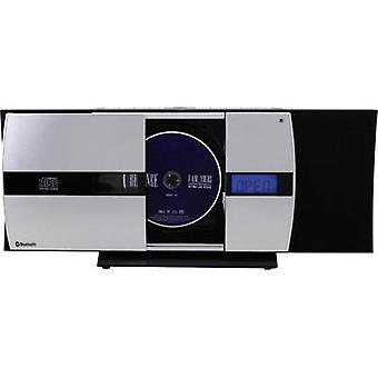 Audio system SoundMaster DISC5000 AUX, CD, FM, USB, Wall mount brackets Black, Silver