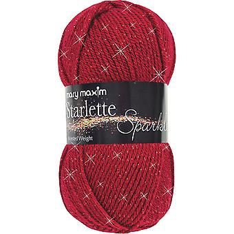 Starlette Sparkle Yarn-Ruby Y127-103