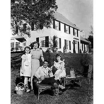 Mr Blandings Builds His Dream House Sharyn Moffett Myrna Loy Cary Grant Connie Marshall 1948 Photo Print