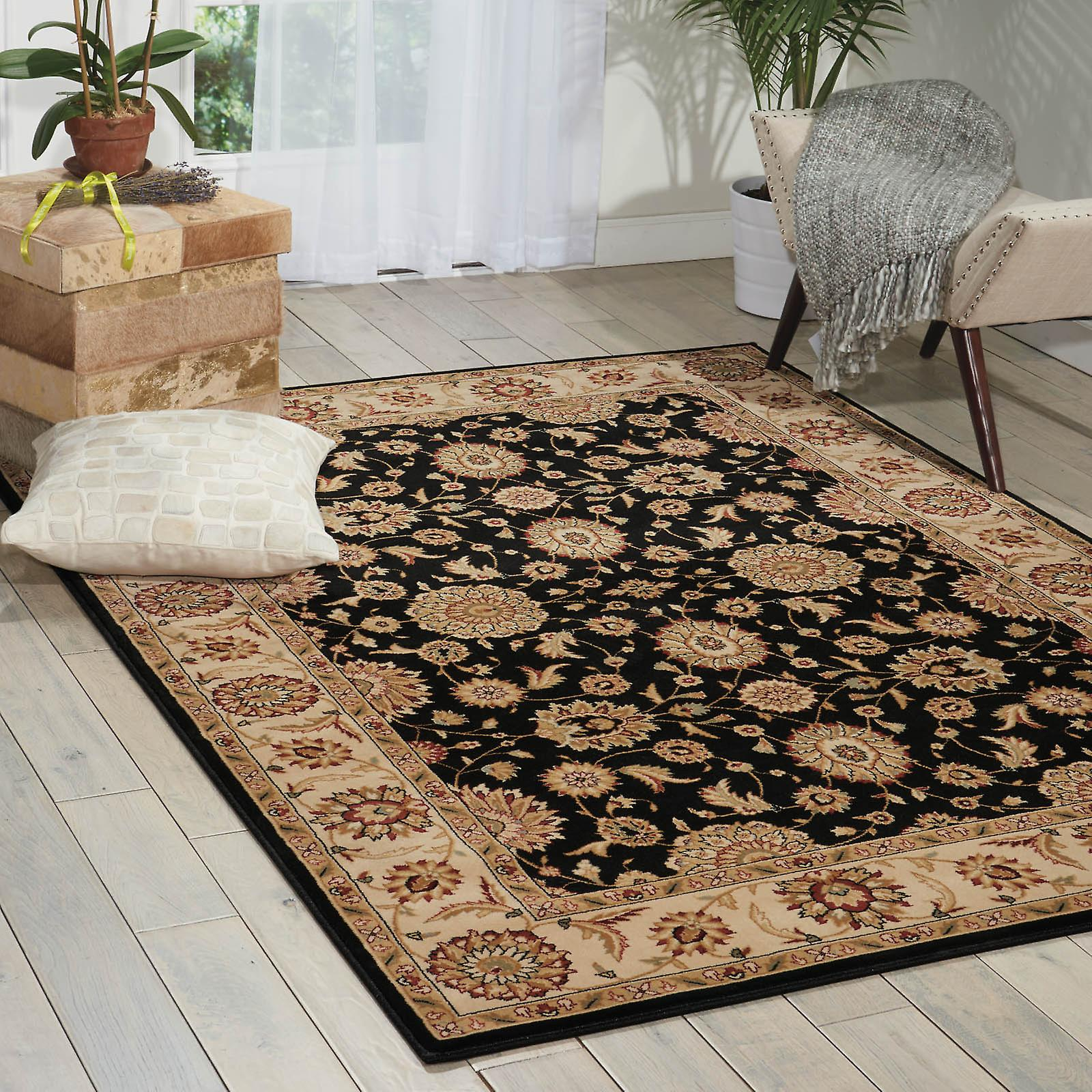 Persian Crown Rugs Pc002 Black
