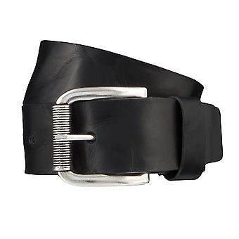 BERND GÖTZ belts men's belts leather belt black 3715