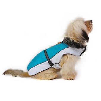 Dog Gone Smart Aspen jakker Aqua / hvid 22
