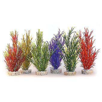 Sydeco Coloured Plants Sea Grass Medium 25cm (Pack of 12)
