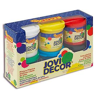 Jovi Box 6 Botes 55ml. Col.Sds decor.