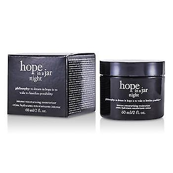 Philosophy Hope In a Jar Night Intense Retexturizing Moisturizer - 60ml/2oz