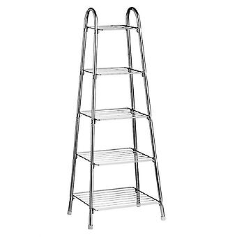 Chrome 5 Tier Pan Stand