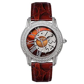 Joe Rodeo diamond ladies watch - BEVERLY silver 1.35 ctw