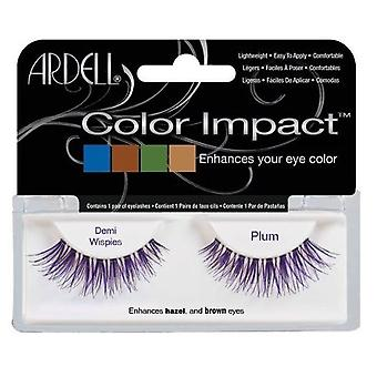 Ardell Impact Color tabs Demi Plum Wispies (Woman , Makeup , Eyes , False eyelashes)
