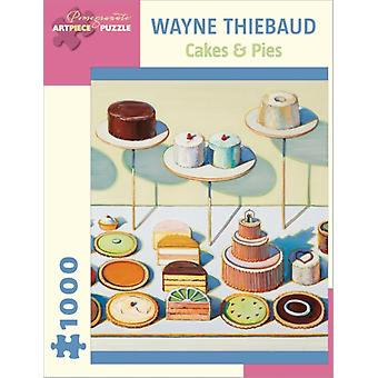 Wayne Thiebaud: Cakes & Pies 1000-piece Jigsaw Puzzle (Toy)
