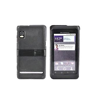 Motorola Droid 2 A955 Snap-On Case with Kickstand (Black) (Bulk Packaging)