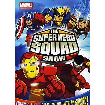 Super Hero Squad Show Vol. 1-2 [DVD] USA import