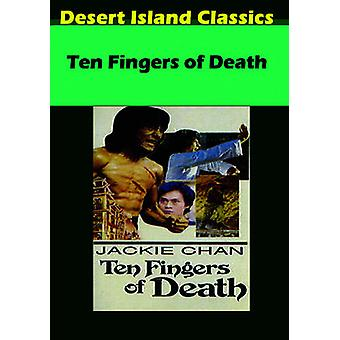 Ten Fingers of Death [DVD] USA import