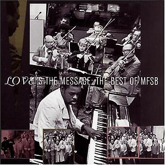 MFSB - Best of-Love est l'importation USA Message [CD]