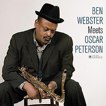Ben Webster - Ben Webster cumple Oscar Peterson + 1 Bonus Track (Foto portada por Jean Pierre Leloir) importación [vinilo] Estados Unidos