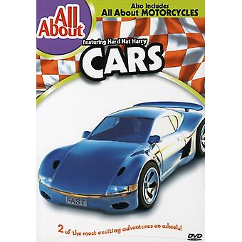 Biler/motorcykler [DVD] USA importerer