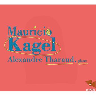 Kagel - Alexandre Tharaud [CD] USA importerer