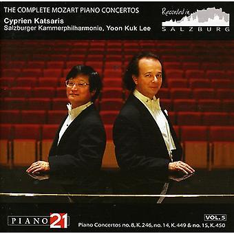 W.a. Mozart - Mozart: Piano Concertos nr. 8, 14 & 15 [CD] USA importerer