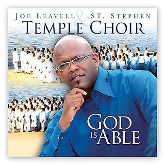 Joe Leavell & st. Stephen tempel kor - Gud er stand [CD] USA import