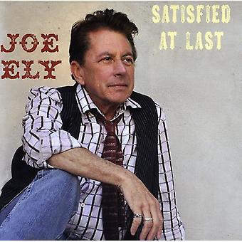 Joe Ely - tilfreds til sidst [CD] USA Importer