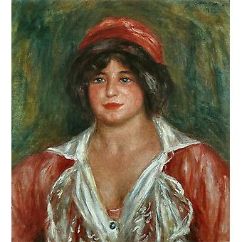 Pierre Auguste Renoir - Colonna Romano Poster Print Giclee