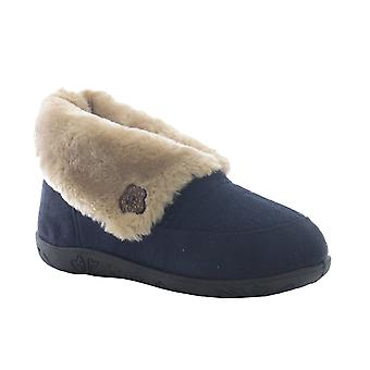 Padders Womens Slipper Eden Navy