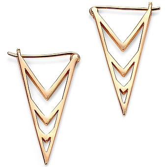 925 Silver Gold Plated Earring