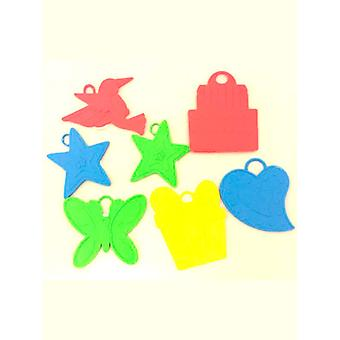 Balloon Weight's assorted Colours & Designs (Bag of 144)
