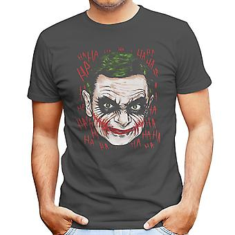 Mr Bean Joker Batman Men's T-Shirt
