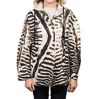 Moncler Tumpe Gamme Rouge Animal Print jakke kvinders
