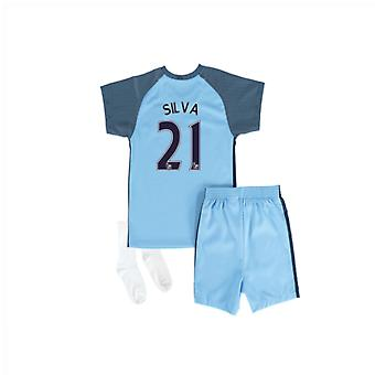 2016 / 17 Manchester City Home Baby Kit (Silva 21)