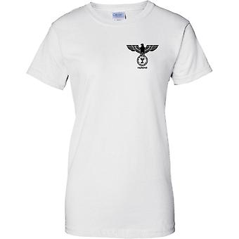 israelske spion agenturet Mossad Insignia - damer brystet Design T-Shirt