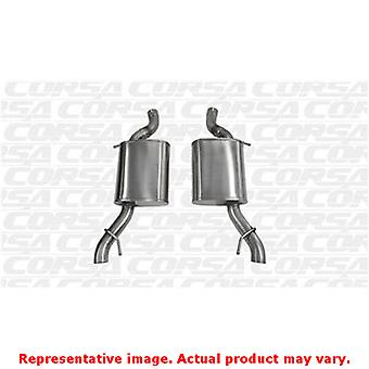 CORSA Performance Axle Back Exhaust 14325 Polished Fits:CADILLAC 2014 - 2015 CT