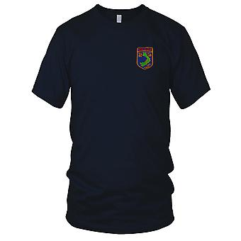 US Army Recon 3rd Bn 7th Infantry Division - Military Vietnam War Embroidered Patch - Kids T Shirt