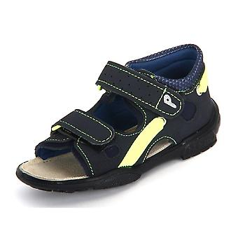 Ricosta Gippy See Ozean Neongelb Textil 3435600177   infants shoes