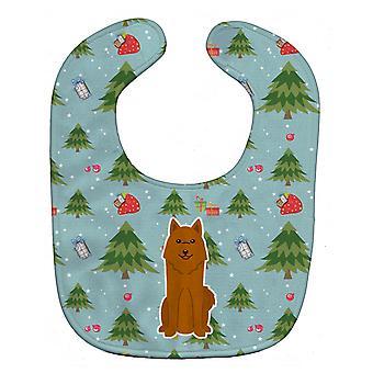 Carolines Treasures  BB4682BIB Christmas Karelian Bear Dog Baby Bib