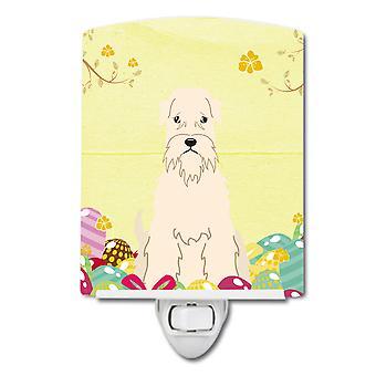 Easter Eggs Soft Coated Wheaten Terrier Ceramic Night Light