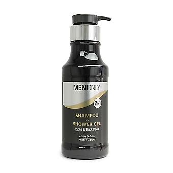 Mon Platin 2 in 1 Shampoo & Shower Gel Jojoba & Black Caviar 400ml