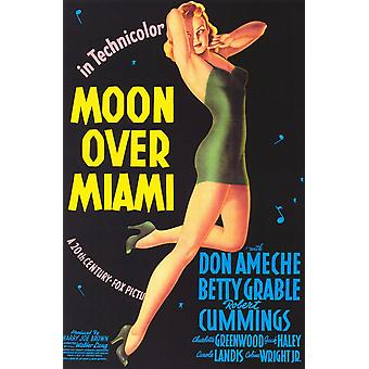 Moon over Miami Movie Poster (11 x 17)