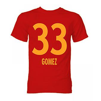 Mario Gomez Bayern Munich Hero T-Shirt (Red)