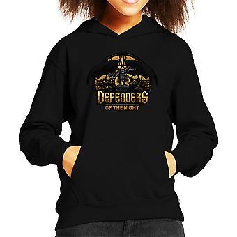 Defenders Of The Night Gargoyles Kid's Hooded Sweatshirt